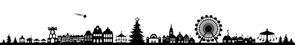 Stadt Weihnachten
